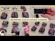 JAJANAN VIRAL | RESEP BROWNIES KUKUS LUMER |JAJANAN 1000 an - YouTube Brownies Kukus, Snack Box, Puddings, Matcha, Oreo, Food And Drink, Snacks, Cake, Youtube