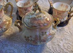 Inspiration for Bronte's Limoges Tea Set.