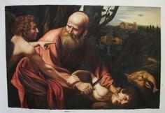 Caravaggio Sacrifice Of Isaac