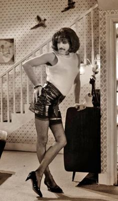 Freddie Mercury could rock a pair of heels better than I ever will! :)