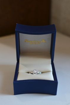14KW ASHI Diamond Ring with .35ct Round Diamond Center. Total Diamond Weight is .85ct.