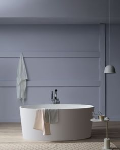 The Victoria & Albert ios bath emphatic compact design suits a variety of different bathroom styles and spaces. Victoria And Albert Baths, Contemporary Bathtubs, Bathroom Goals, Duravit, Bathroom Styling, Elle Decor, Home And Living, Living Spaces, House Design
