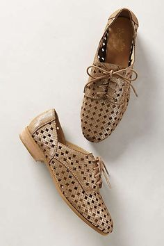 Anthropologie - Perforated Kelly Oxfords
