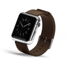 iPM Genuine Leather Replacement Band For Apple Watch-42mm-Brown (GLAPLW42BN)
