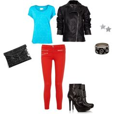 Rock and colour, created by els-holland on Polyvore