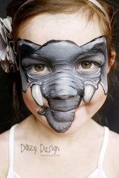 Amazing Elephant Face Painting