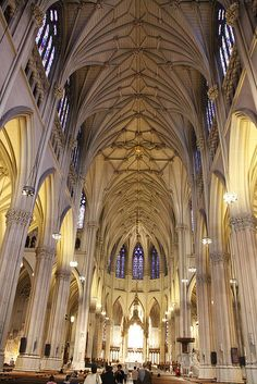 St. Patricks´ Cathedral - New York Just there yesterday so beautiful especially during Christmas