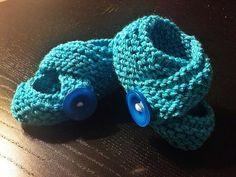 turkuaz bebek patikleri/turquois baby booties (3-6 ay/3-6 months)