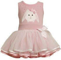 Bonnie Baby Baby-Girls Infant Bunny Applique Tutu Skirt