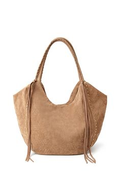 Faux Suede Fringed Tote from Forever 21 R279,00