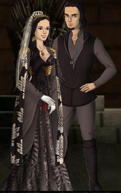 Alexia Black married Eric Walkin, becoming Mrs Alexia Black-Walkin.