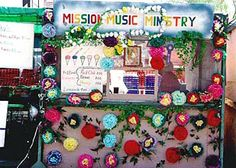 The Mission Music Ministry booth at the San Agustín Fiesta (JSG)