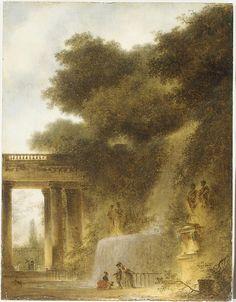 The Cascade  Jean Honoré Fragonard (French, Grasse 1732–1806 Paris)  Date: ca. 1775