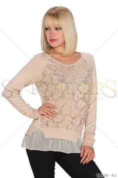 Awesome Experience Cream Blouse