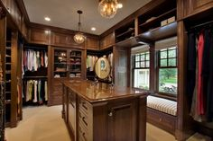 Great masculine closet!