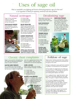 Herbs: Uses of #Sage Oil.