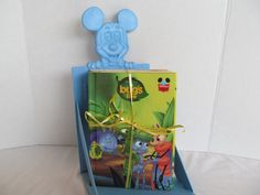 DISNEY BOOKS  SET Of 8 Mickey Mouse Bookcase. A by CellarDeals