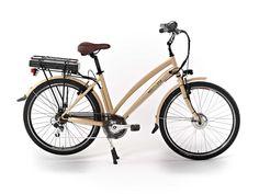"""#ebike - bici elettrica -  Il design della bicicletta elettrica FENICE richiama con eleganza le atmosfere classiche degli indimenticati anni '50. Una personalità accattivante e dallo stile inconfondibile, è la bicicletta a pedalata assistita ideale per chi vive la città e """"fa"""" la città."""