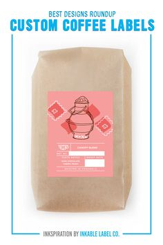 PLUS PRO DESIGN TIPS. Custom coffee packaging carries the heart of your brand. For big inspiration, here are some of the best custom coffee label designs we've seen! Coffee Label, Coffee Packaging, Custom Bags, Custom Labels, Bow Truss, Blended Coffee, Custom Packaging, Packaging Design Inspiration, Label Design