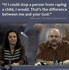 Tracie Harris, The Atheist Experience.