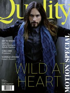 """New Quality Magazine cover of Jared Leto. Photo by Julia Kiecksee. I prefer the """"old"""" Jared- with short hair and clean-shaven. Is he still sexy? Most Beautiful Man, Gorgeous Men, Dead Gorgeous, Life On Mars, Shannon Leto, Just Jared, Andy Biersack, Norman Reedus, David Bowie"""