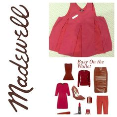 Madewell maroon top! Material and sheer parts (shown in picture). Great color and awesome length! Madewell Tops Blouses