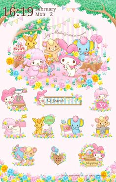 My Melody and Sweet Piano Android app (=´∀`)人(´∀`=)