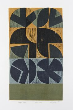 Peter Green OBE - Evening Totem - The Scottish Gallery, Edinburgh - Contemporary Art Since 1842