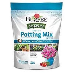 Burpee Organic Premium Potting Mix 8 Quart for sale online