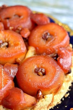 Caramel, Strudel, Vegetarian Recipes, Deserts, Food And Drink, Ice Cream, Yummy Food, Sweets, Candy