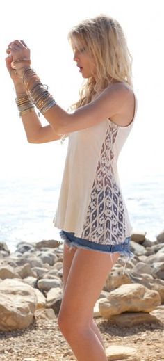 Broken Promises Tank - As Seen in Natalie Off Duty and Boston Magazine
