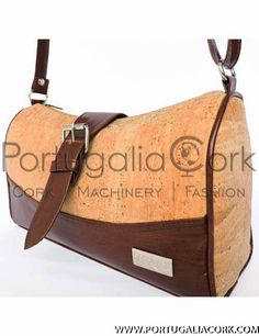 Cork buckle bag