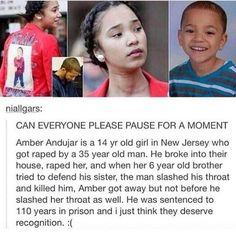 I heard this story a while back. But this legit just broke my heart again. People are so sick. My goodness.