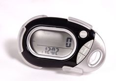 HRM 771 Multifunction Pedometer. Highly Accurate - 97 to 98%. Works vertically or horizontally. Features include: steps, distance, stride, calories, 7 day memory, clock, and target goal settings. Low battery indicator. 90 Day limited warranty.