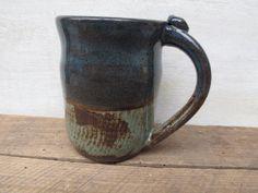 Handmade Pottery Coffee Mug // Ceramic Mug // by KismetPottery, $20.00