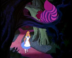 Alice: I was just wondering if you could help me find my way. /Cheshire Cat: Well that depends on where you want to get to. /Alice: Oh, it really doesn't matter, as long as... /Cheshire Cat: Then it really doesn't matter which way you go.