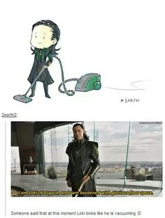 Loki ~ Vacuuming? ~ Oh my, it does look like he's vacuuming does'int it. Lol