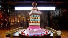 Adriano Zumbo's Cake in Masterchef Australia! Adriano Zumbo Cakes, Zumbo Desserts, Masterchef Australia, Fancy Desserts, Birthday Candles, Centerpiece, Sweet, Recipes, Food