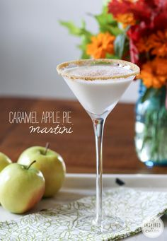 Caramel Apple Pie Martini ~ Inspired by Charm