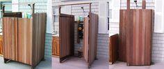 Tiki Dave's Seaside Shower Stalls