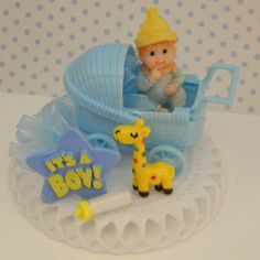 It's a Boy Baby Shower Cake Top