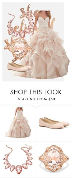 """Pink wedding"" by kn2004jackson ❤ liked on Polyvore featuring Chloé, Thalia Sodi and Effy Jewelry"