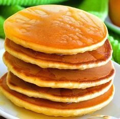 Fluffy pancakes with thermomix Thermomix Pancakes, Thermomix Desserts, Crepes, Buckwheat Cake, Salty Cake, Savoury Cake, Original Recipe, Clean Eating Snacks, Breakfast Recipes