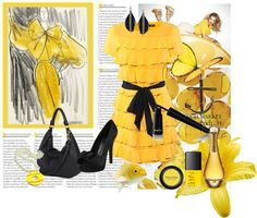 """LEMON"" by shahdyaser on Polyvore"