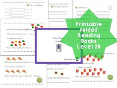 Rainbow Readers] One More 2B (Printable Guided Reading Book  for EY & EFL/ESL students )