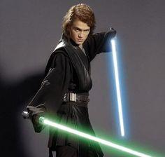 Hayden Christensen as Anakin Skywalker in Star Wars eps. 2 and 3.