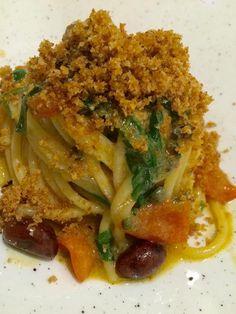 Gourmet Recipes, Pasta Recipes, Real Food Recipes, Vegan Recipes, Italian Dishes, Italian Recipes, Entrees, Spaghetti, Catering