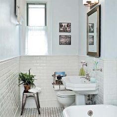 Photo: Evan Sklar | thisoldhouse.com | from Bath Gets a Classic Redo, 1920s-Style