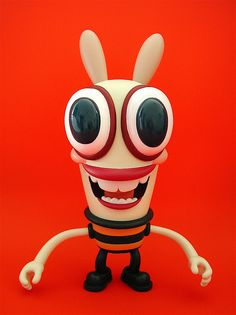 Pip vinyl figure by Dave Cooper & Critterbox