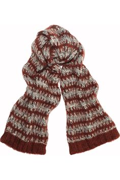 Isabel Marant|Paloma knitted scarf|NET-A-PORTER.COM
